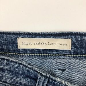Pilcro and the Letterpress Jeans - Pilcro and the letterpress button fly jeans